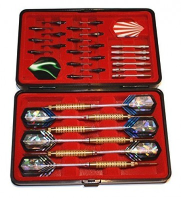 Dartpfeile 6 Turnierpfeile in Duo Box Steel+Soft von Empire®Dart
