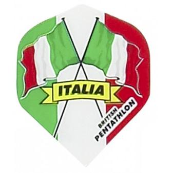 British Pentathlon Italien Dart Flights