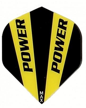 McCoy Power Max STD Solid Yellow/BlackFullsize Flight