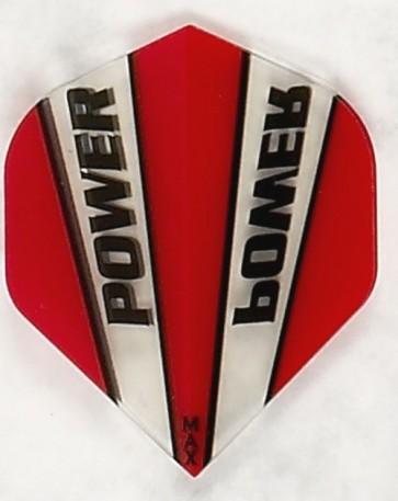 McCoy Power Max STD Trans Red/Clear Fullsize Flight