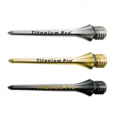 3 Stk. Target Titanium Steel Spitze (26mm)