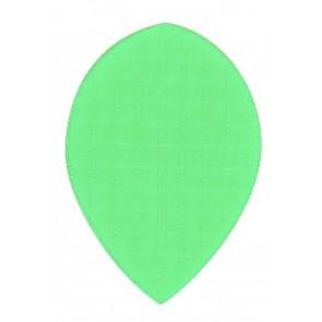 Nylon Longlife Stoff Flights - Pear - Fluro Grün