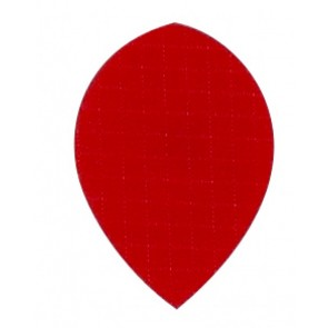 Nylon Longlife Stoff Flights - Pear - Rot