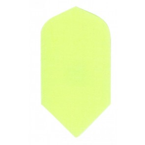 Nylon Longlife Stoff Flights - Slim - Fluro Gelb