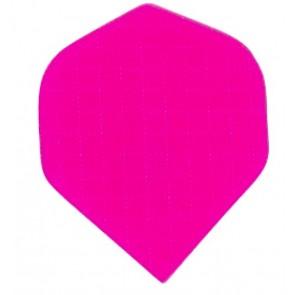 Nylon Longlife Stoff Flights - Standard - Fluro Rosa