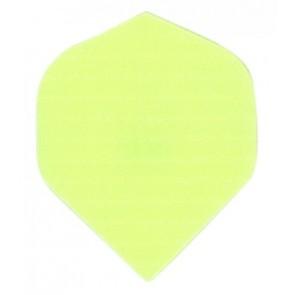 Nylon Longlife Stoff Flights - Standard - Fluro Gelb