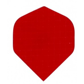 Nylon Longlife Stoff Flights - Standard - Rot