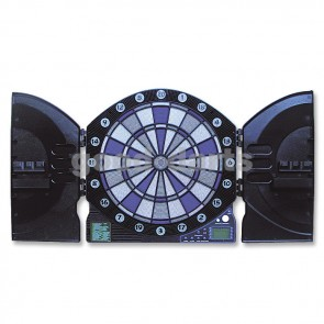 Elektronik Dartboard Flash mit blau blinkendem Zahlenkreis