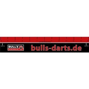 Bulls Dart Abwurflinie