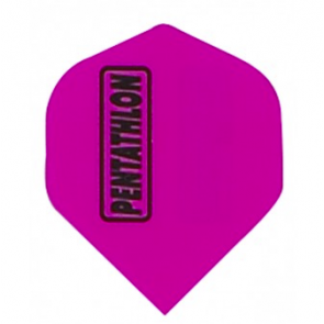 Pentathlon Poly Fullsize Flights - Pink