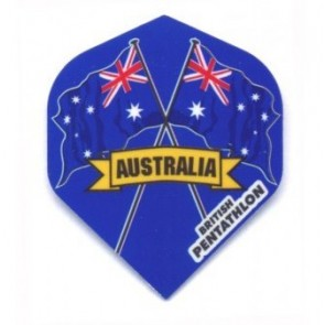British Pentathlon Australien Dart Flights