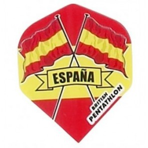 British Pentathlon Spanien Dart Flights