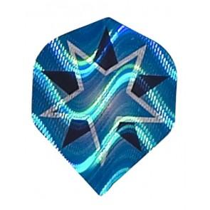 "2D Hologram ""Blauer Stern"" Fullsize Flights"