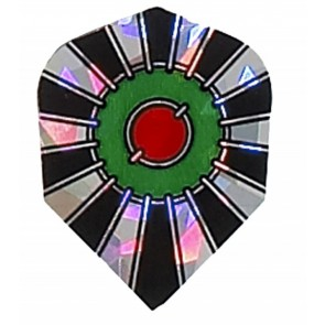 2D Hologram Bullseye Fullsize Flights