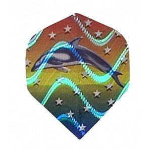 2D Hologram Delfin Fullsize Flights