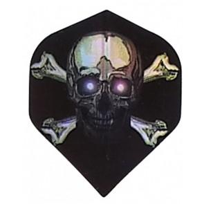 2D Hologram Totenkopf X Bones Fullsize Flights