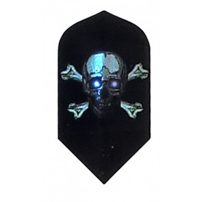 2D Hologram Totenkopf X Bones Slim Flights