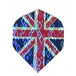 2D Hologram Union Jack Fullsize Flights