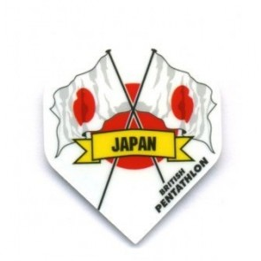 British Pentathlon Japan Dart Flights