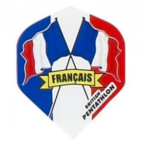 British Pentathlon Frankreich Dart Flights