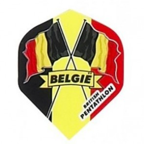 British Pentathlon Belgien Dart Flights