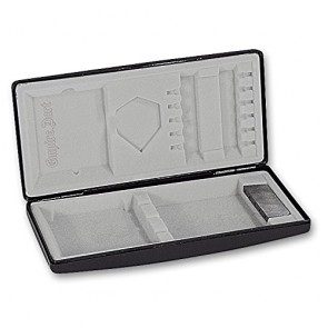 Dart-Pfeilbox EMPIRE Comfort Schwarz Innenfarbe Grau