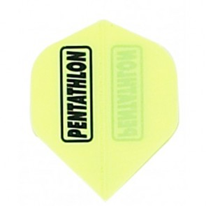 Pentathlon Poly Fullsize Flights - Gelb