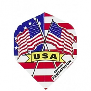 British Pentathlon USA Dart Flights
