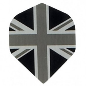 "Metro Std. Fullsize ""Union Jack"" Flights - Schwarz"