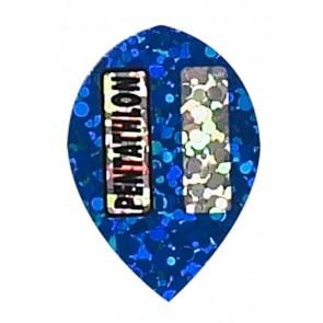 """Blue"" Pentathlon Diamond Pear Flights"