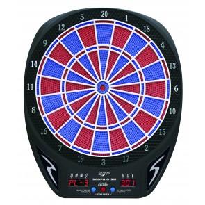Carromco Elektronisches Dartboard 301 (schwarz)