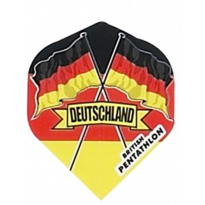 British Pentathlon Deutschland Dart Flights