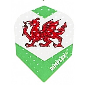 Harrows Dimplex Wales Flagge Fullsize Flights