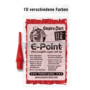 100 Stk. E-Point Soft Dartspitzen (kurz)