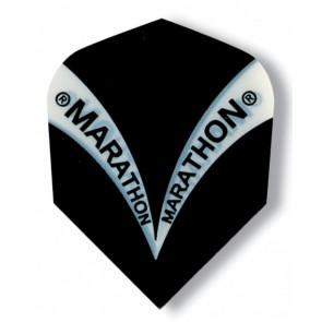 Harrows Marathon Schwarz Fullsize Flights