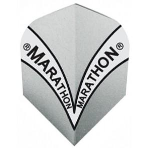 Harrows Marathon Silber Fullsize Flights