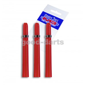 M3 Nylon Extra Kurz (2,5 cm) Rot Schäfte