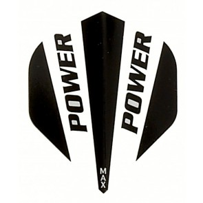 McCoy Power Max STD Solid Black/White Fullsize Flight