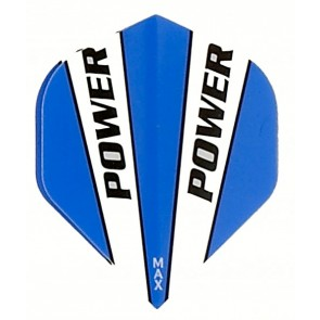 McCoy Power Max STD Solid Blue/White Fullsize Flight
