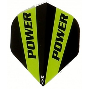 McCoy Power Max STD Solid Green/Black Fullsize Flight