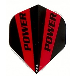 McCoy Power Max STD Solid Red/BlackFullsize Flight