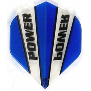 McCoy Power Max STD Trans Blue/Clear Fullsize Flight