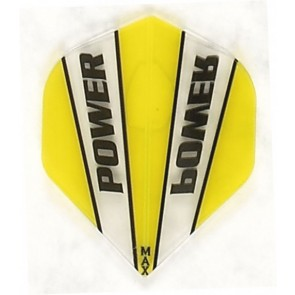 McCoy Power Max STD Trans Yellow/Clear Fullsize Flight