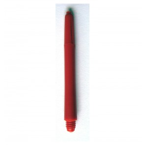 Nylon Schaft rot (mittel 48mm)