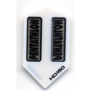 Pentathlon HD 150 SLIM Extra Stark - Trans Weiß