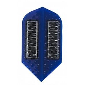 Pentathlon strukturierte Slim Flights - Blau