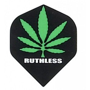 "Ruthless ""Hanfblatt"" Flights - Schwarz"
