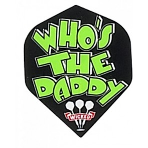 "Ruthless ""Whos the Daddy"" Flights - Schwarz"