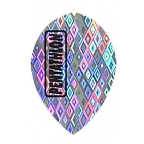 """Silver"" Pentathlon Diamond Pear Flights"