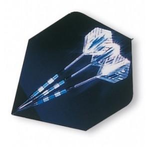 Unicorn Core Blue Darts Fullsize Flight